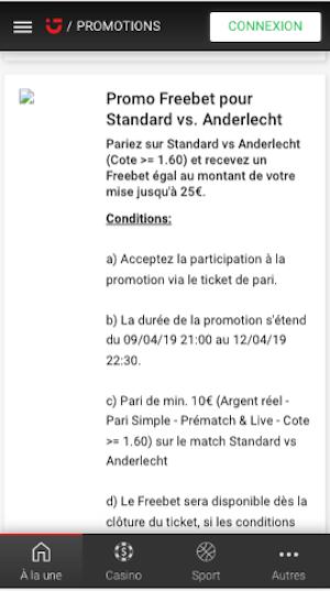 Parier Standard Anderlecht