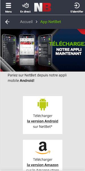 netbet telecharger app