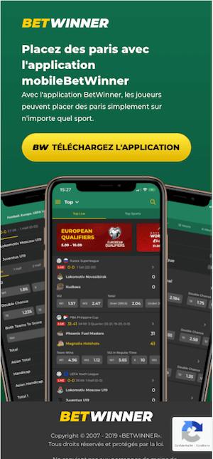 telecharger betwiner apk et app